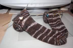 Classic Ellite's Alpaca Sox yarn