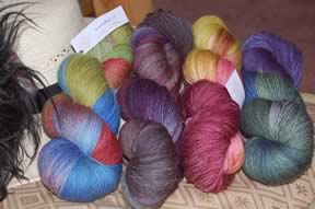 Yarn from The Knittery in Australia